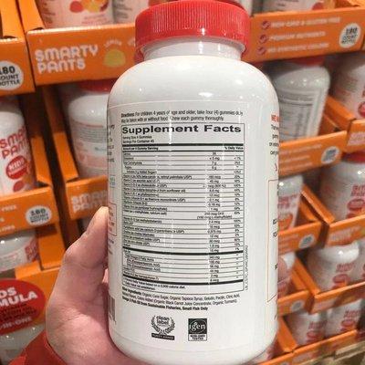 耀夜代USANA~美國Smarty Pants兒童多種維生素軟糖含omega3+VD+DHA 180粒