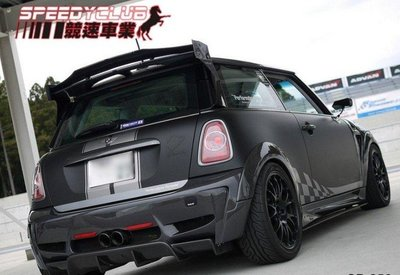 MINI  COOPER S R56  DUELL 尾翼 另有碳纖維 carbon