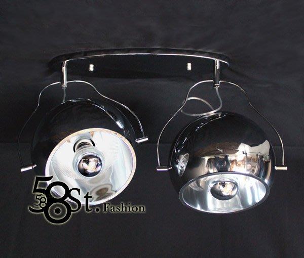 【58街】設計師款式「魔眼吸頂燈 / 單燈款,燈罩可調」弔燈、美術燈。複刻版。GZ-164