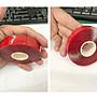 【贈品禮品】A3612 不留痕雙面膠帶/多用途不留痕透明高延伸展強力壓克力/高黏度/不留痕牆面防水彈性