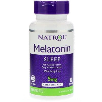 北美旗艦代購~11年老店 Natrol  美國直發褪黑素 緩釋型 深沉睡眠 助睡 入睡