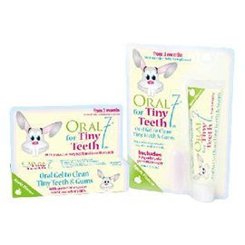 ORAL7口立淨7寳寳潔牙凝膠含指頭刷...