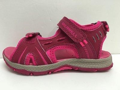 Merrell 涼鞋 兒童涼鞋 運動涼鞋 大底防滑耐水性 尺寸:US12/18cm~US3/22cm