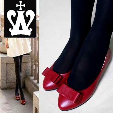 =WHITY=韓國FUPA品牌 韓國製  FEND復古時尚深紅全真皮羊皮時尚小尖頭平底鞋 S4CI744