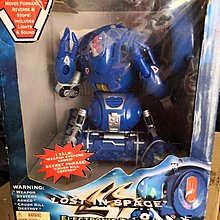 NEW SEALED Lost In Space Robbie Robot Remote Control by Toy island 1998 (RARE)