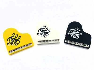 【老羊樂器店】鋼琴造型 樂譜夾 夾子 譜夾 萬用夾 文具 背面附磁鐵