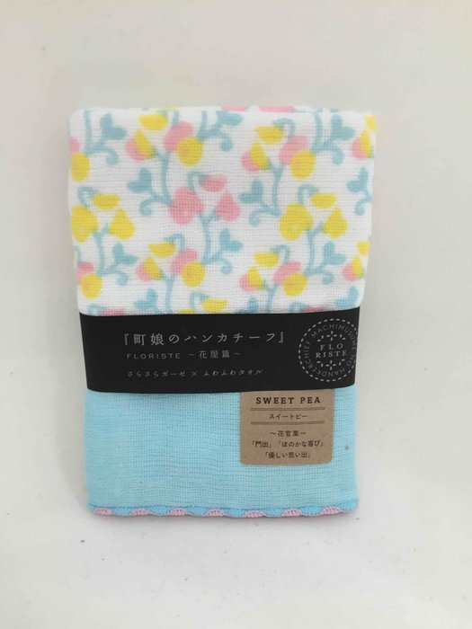 日本製 鈴鐺樹手帕