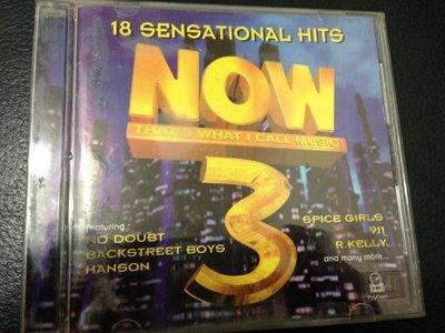 『貨暢其流 二手CD』NOW 3-18 SENSATIONAL HITS THAT'S WHAT I CALL