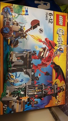 Lego 70403 Castle Dragon 紅飛龍城堡 全新未開