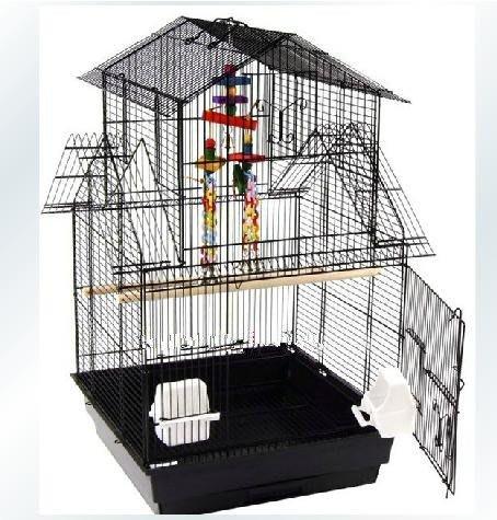 新款屋型大鳥籠 鸚鵡籠 群鳥籠 鳥籠 鸚鵡 鳥籠大號 金屬鳥籠