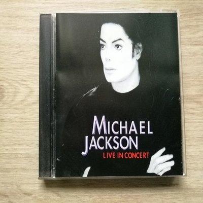 經典【原版CD】麥可傑克森 現場演場會 Michael Jackson Live in Concert 澳洲版