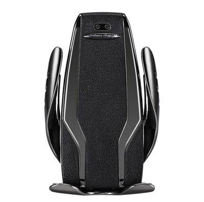 s6車載無線充電器 無線快充  車用支架 手機架 紅外感應 無線充 s5魔夾10w車載手機支架10509