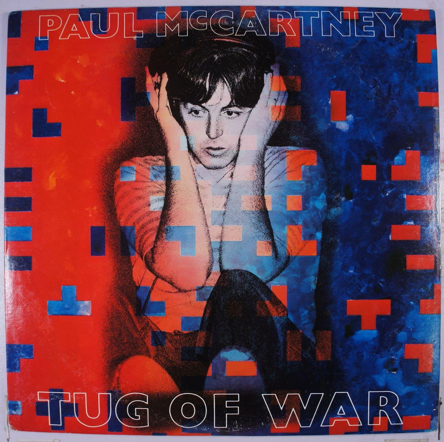 《二手美版黑膠》Paul McCartney - Tug Of War 收錄冠軍曲 Ebony And Ivory