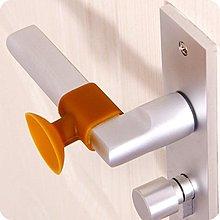 吸盤式免打孔門吸把手套門保護 軟硅膠門把防撞墊門鎖消音套 美好生活居家館