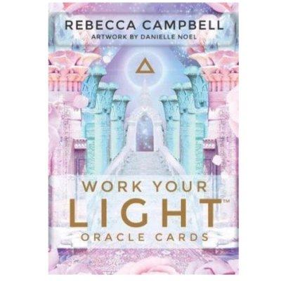 【預馨緣塔羅鋪】全新現貨正版與光同行神諭卡Work Your Light Oracle Cards(44張)