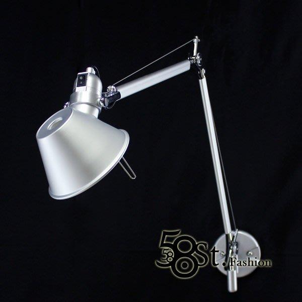 【58街】義大利設計師款式「稻草人雙臂壁燈」。複刻版。GK-213