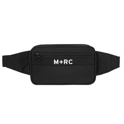 開季最新 M+RC NOIR Canal Street Bag 經典logo腰包 斜背包 黑色 現貨【BoXhit】