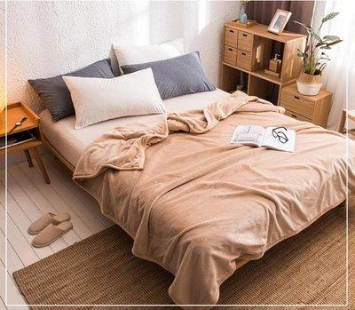 毛毯 墊珊瑚絨毯子加厚保暖毛毯被子法蘭絨毛絨床單人宿舍單件學生
