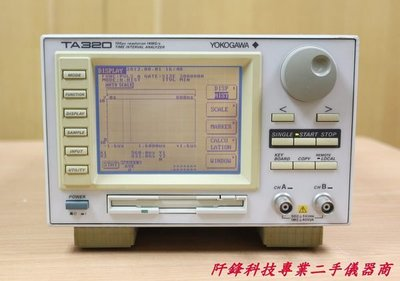 【阡鋒科技 專業二手儀器】YOKOGAWA TA320 100ps resolution 14MS/S 時距分析儀