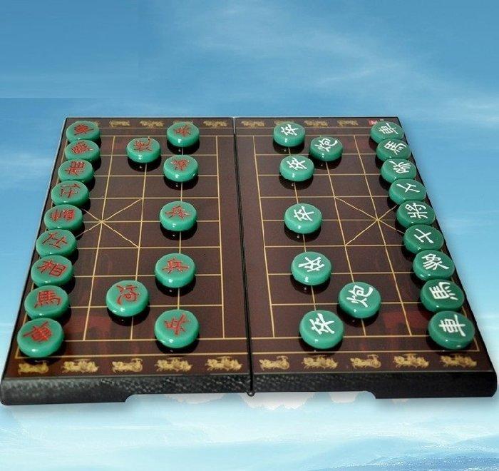 中國象棋便攜磁性折疊棋盤套裝仿實木高檔雕刻_☆優夠好SoGood☆
