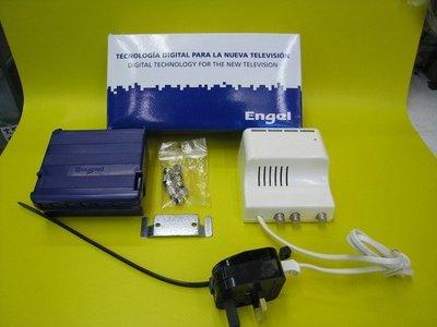 Engel (Eight代理)室外電視放大器AM6212 增益40dB 實舖門市