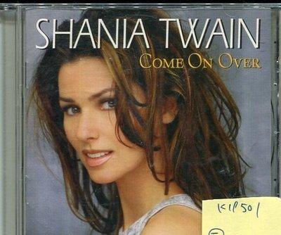 *真音樂* SHANIA TWAIN / COME ON OVER 二手 K19501