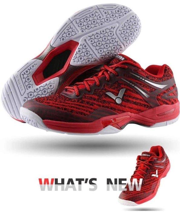 ◇羽球世家◇【鞋】勝利 羽球鞋 A922 D紅色 李洋御用鞋 數位編織皮面 922「合腳包覆、鞋底軟彈、鞋面舒適」三特點