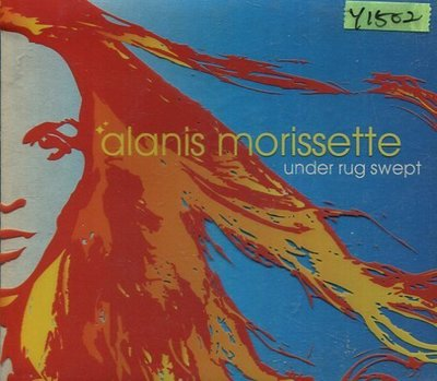 *還有唱片行* ALANIS MORISSETTE / UNDER RUG SWEPT 二手 Y1502
