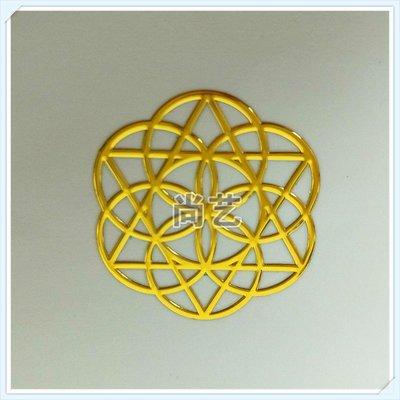 手機裝飾貼紙 能量圖案符號 手機金屬防輻射 奧根金字塔材料能量貼紙J3346