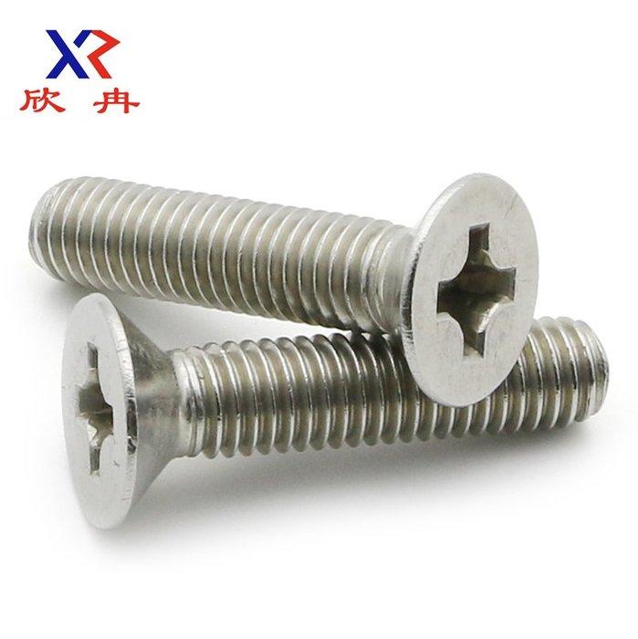 衣萊時尚-【M1 M1.2 M1.4 M1.6】304不銹鋼十字螺釘/沉頭螺絲/平頭螺絲釘