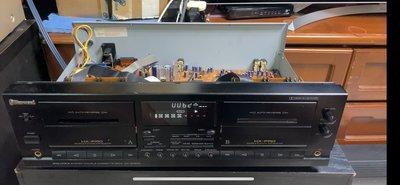 【李歐的音響】自售正常使用中 Sherwood DD-6030C 雙卡自動回帶卡式錄音帶卡座 Cassette Dcek