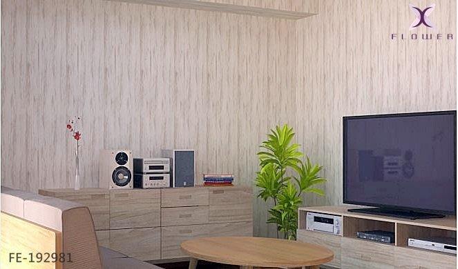 【夏法羅 傢飾】日本進口 米白木板 淺色木紋 木皮 鄉村風 北歐風 仿真仿建材壁紙FE-192981