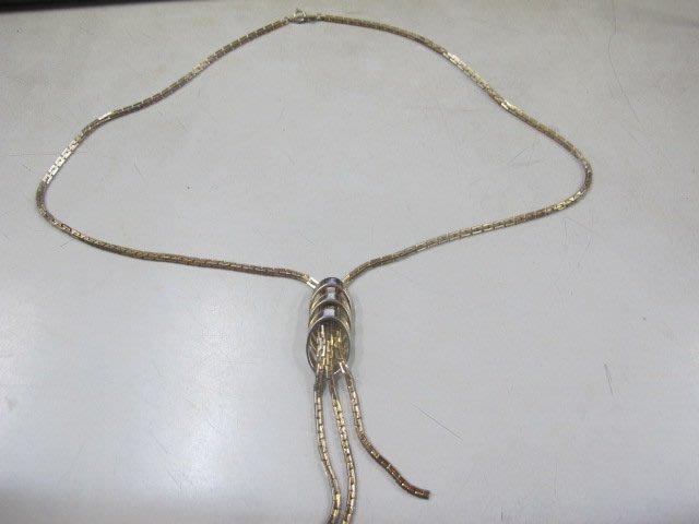 二手舖 NO.4091 時尚造型項鍊 手鍊 首飾飾品