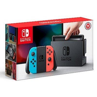 八號倉庫 任天堂Nintendo Switch-電光藍/紅 Joy-Con【0Joy-Con】