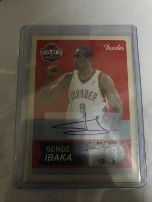 2012 Past & Present Serge Ibaka 簽名