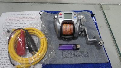 美品日本製daiwa SEABORG (西伯格) MAG MAX 500e型電動捲線器,速度200