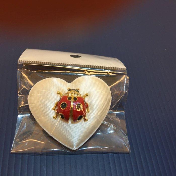瓢蟲胸針(日本帶回來)