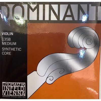 [YA BO CONCERTO]奧地利 Thomastik Dominant 135B 4/4 新包裝 小提琴套弦 原廠