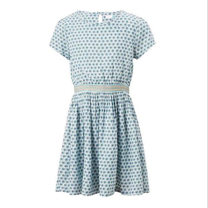 ☆草莓花園☆現貨~48新品中大童女裝 純棉連身裙 夏裝連衣裙  公主裙