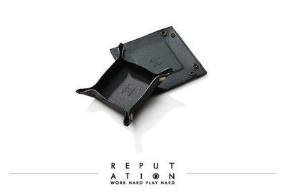 REPUTATION - Italy Cowhide Accessories Dish - 義大利牛皮飾品盤