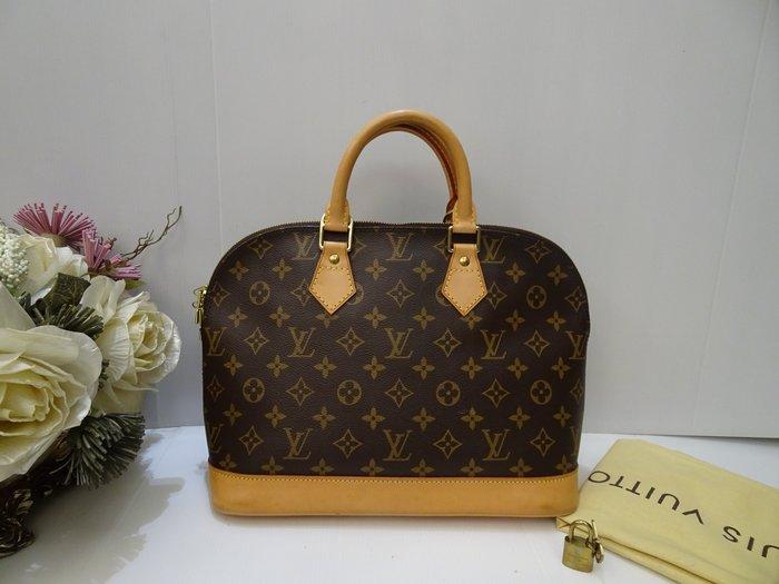 低價出售【平價名牌誌】二手真品LV《M51130》艾瑪包  手提包