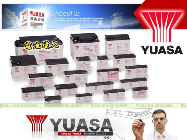 電池達人☆湯淺(WP7.2-12 12V-7.2AH )WP7-12 NP7-12 GP1272 另售 36B20L電池