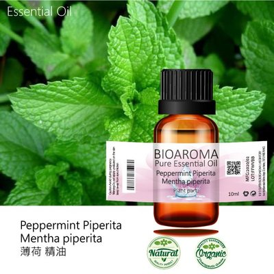 【純露工坊】胡椒薄荷精油Peppermint Piperita - Mentha piperita  10ml