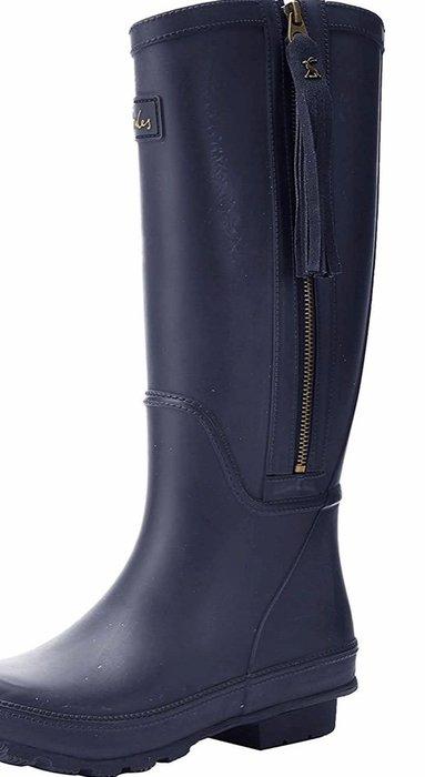 英國Joules長雨靴  藍色 英國正品代購  3550含運