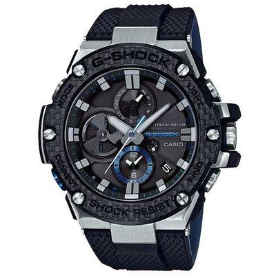 【CASIO 卡西歐】G-SHOCK G-STEEL智慧藍牙手錶(GST-B100XA-1A-灰黑)