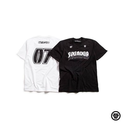 (MARVELOUS) SQUAD S/S SQUAD X Brandnu 運動短T-Shirt
