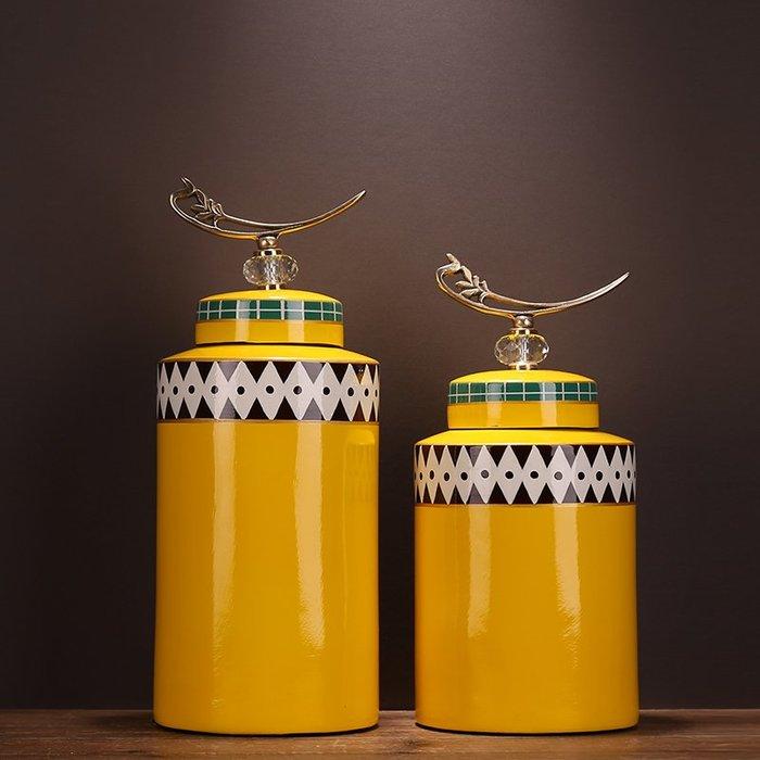 〖洋碼頭〗新中式復古客廳書房樣板房家居陶瓷裝飾品儲物罐擺件送禮插花花瓶 ysh460