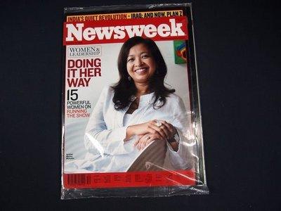 【懶得出門二手書】英文雜誌《Newsweek》DOING IN HER WAY 2006.12.18 (無光碟)│全新(21F32)