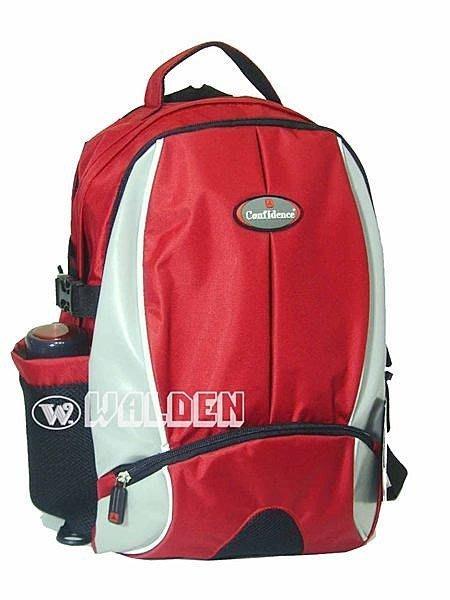 《葳爾登》confidence電腦包後背包,旅行袋,斜背包.手提包.書包,運動背包,登山包5981紅色