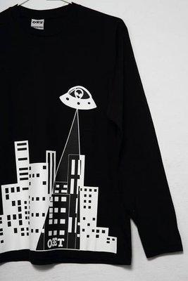 { POISON } OIT UFO LONG SLEEVE TEE 外星人入侵長TEE  贈OIT防水貼紙